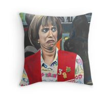 Target Lady Throw Pillow