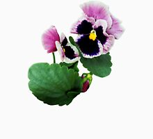 Pansy Mother and Child Womens Fitted T-Shirt