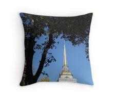 Admiralty Spire Throw Pillow
