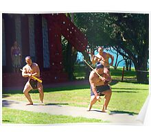 Maori Dance Poster