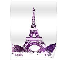 Eiffel Tower Paris France 1889 Poster