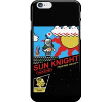 8 Bit Sun Knight iPhone Case/Skin