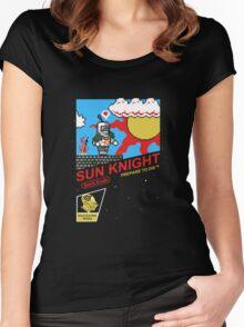 8 Bit Sun Knight Women's Fitted Scoop T-Shirt