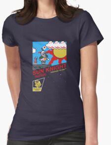 8 Bit Sun Knight Womens Fitted T-Shirt