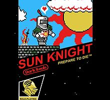 8 Bit Sun Knight by AutoSave