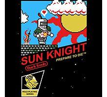 8 Bit Sun Knight Photographic Print