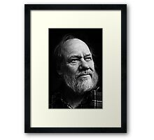 Philip - bw Framed Print