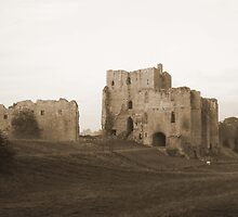 Brough Castle by Nessieroo