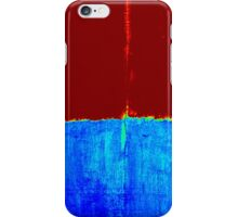 Original Abstract Modern Art Acrylic Titled: Two Sides iPhone Case/Skin