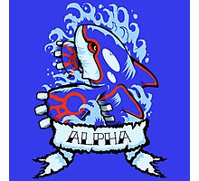 Alpha Photographic Print