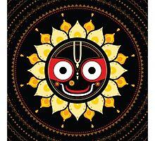 Lord Jagannatha. Photographic Print