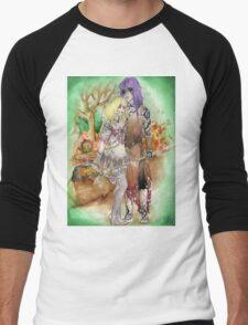 Medieval Dark Magicians Men's Baseball ¾ T-Shirt