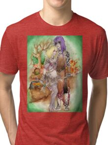 Medieval Dark Magicians Tri-blend T-Shirt