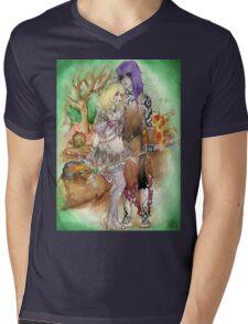 Medieval Dark Magicians Mens V-Neck T-Shirt