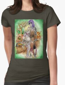 Medieval Dark Magicians Womens Fitted T-Shirt