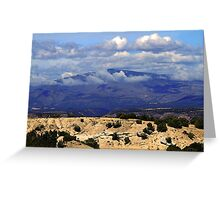 High Road to Taos, New Mexico Greeting Card