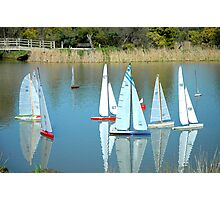 Boat Race Photographic Print
