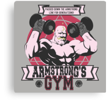 Strong Arm Gym Canvas Print