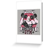 Strong Arm Gym Greeting Card