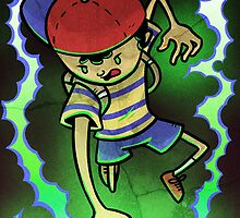 Earthbound Hero by ParkerSimpson