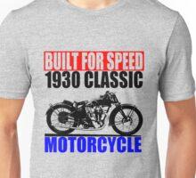 1930 MOTORCYCLE Unisex T-Shirt