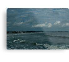 Narragansett Beach after the Storm Metal Print