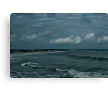 Narragansett Beach after the Storm Canvas Print