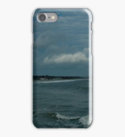 Narragansett Beach after the Storm iPhone Case/Skin