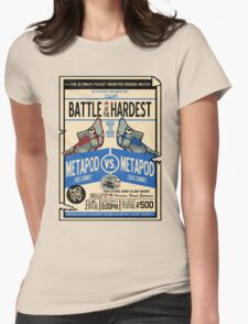 Battle of the Century Womens Fitted T-Shirt