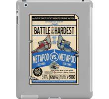 Battle of the Century iPad Case/Skin