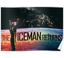 The Iceman Returns Poster Poster