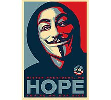 Anonymous - Hope Photographic Print