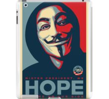 Anonymous - Hope iPad Case/Skin