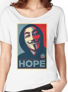 Anonymous - Hope Women's Relaxed Fit T-Shirt