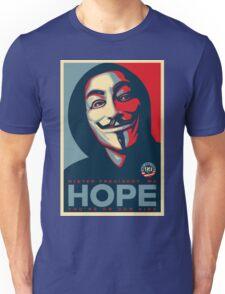 Anonymous - Hope Unisex T-Shirt