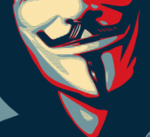 Anonymous - Hope Sticker