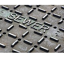 Sewer Photographic Print