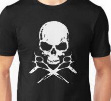 Rock N' Roll Hairdresser (white logo) Unisex T-Shirt