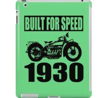 1930 MOTORCYCLE-2 iPad Case/Skin