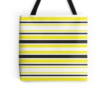 Bumble Bee Stripes Tote Bag