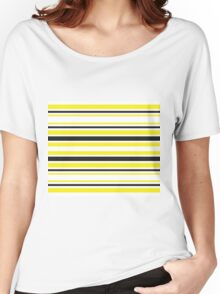 Bumble Bee Stripes Women's Relaxed Fit T-Shirt