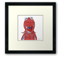Red Kemit Italiano Framed Print
