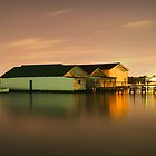 Peppermint Grove Boatsheds by Phil Luyer