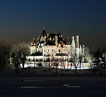 FROZEN BOLDT CASTLE by Lori Deiter