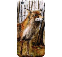 F is for Fox iPhone Case/Skin