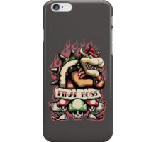 Final Boss iPhone Case/Skin