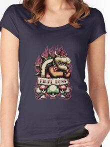 Final Boss Women's Fitted Scoop T-Shirt