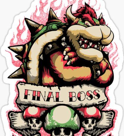 Final Boss Sticker