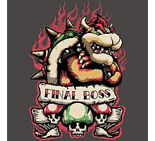 Final Boss Photographic Print