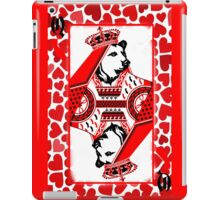 Queen Of California Red iPad Case/Skin